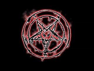 Blasphemy hail satan