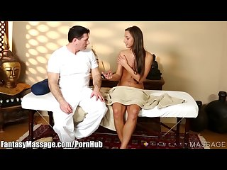 Fantasymassage amirah adara tricked into bj