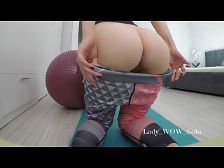 The best bubble butt in yoga pants 4k