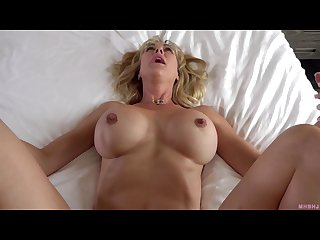 When the husband is away the milf will play brandi love