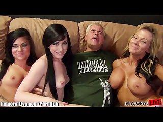 GIRLS GIRLS GIRLS! They switch between girls to fuck!