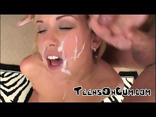 Cum on Tiffany Rayne