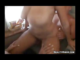 Gianna and carmella fuck a lucky dick on private jet