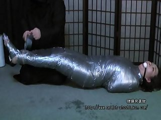 Japanese milf mummified