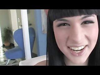 Sexy shemale bailey jay masturbates and cums