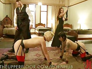 Slaves spanked raw