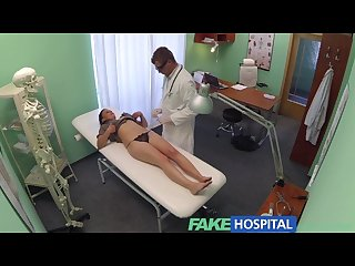 Fakehospital dirty doctor gives sexy student patient the all clear