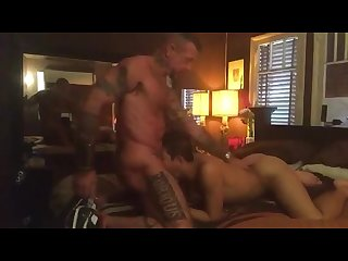 Asian twink used hard by tatted daddy