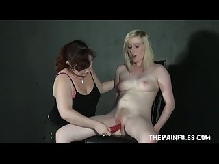 Erotic domination of lesbian submissive in sex toys slavesex and spanked
