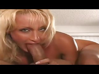 Blonde milf blow job