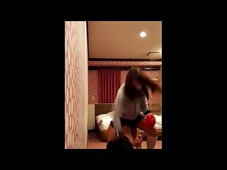 Japanese girl hard kick Ballbusting long ver