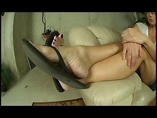 Lacreme flip flops thick wrinkled soles