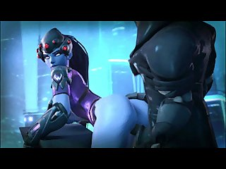 D va widowmaker overwatch hentai
