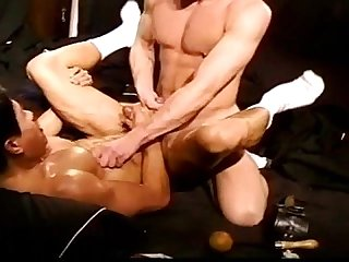 Red head muscle fucks asian in cbt vid