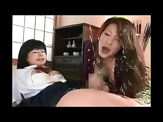 Japanese futanari mother and daughter