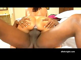 Latin milf gets her first bbc creampie
