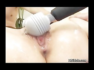 Sex asian babe gets vibrator torture part2
