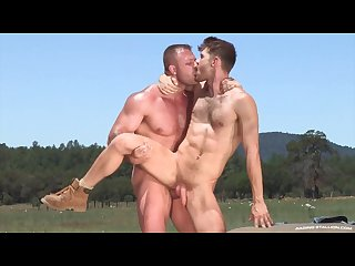 Ragingstallion austin wolf outdoor fucking Jacob peterson