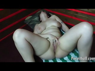 Mature woman masturbates