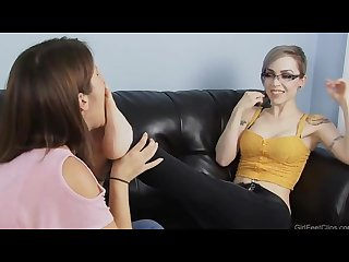 Lela foot worships tara S soft feet girlfeetclips