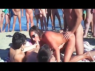 Nude sex at Cap D agde