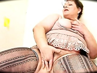 Horny fat ass granny gloryhole 64