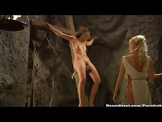 Lesbian punishment video slave tears of rome