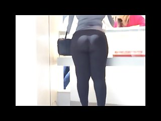 Mom tell me to follow mydreams latina ight ss in black spandex