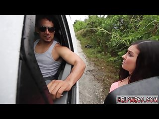 Feet crush slaves first time car problems in the middle of nowhere in
