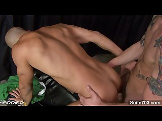 Naughty married guy austin wilde gets fucked by tattooed gay cliff jensen