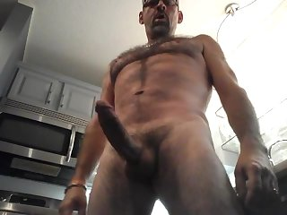 Hot daddy jerk off