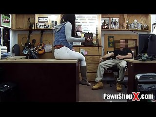 Brown bunny in boots gives up ass for cash in pawn shop xp14321 pawnshopx com