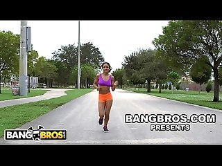 Bangbros young black babe nicole bexley teaches sean lawless yoga