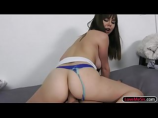 Shae and Kadence fucking with stepbro