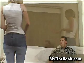 Blonde housewife tabitha got so horny she invite