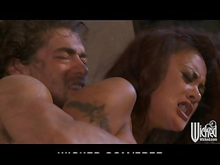 Sexy asian babe akylani lei gets fucked hard and fast