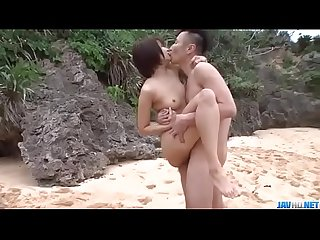 Mind blowing Outdoor trio with slim Beauty saya tachibana more at javhd period net