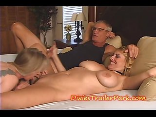 2 milfs me and our swingers party