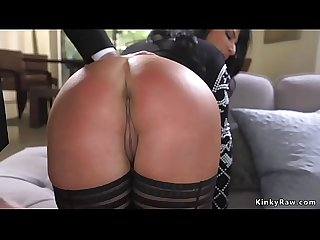 Huge ass milf spanked and anal fucked
