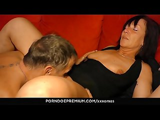 XXX OMAS – Horny granny cum covered in hardcore fuck