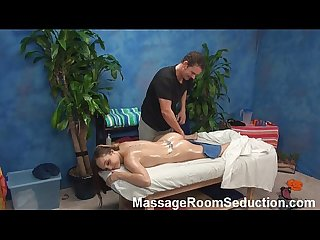 Teen seduced by her massage therapist