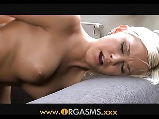 Orgasms - Teen strap-on seduction