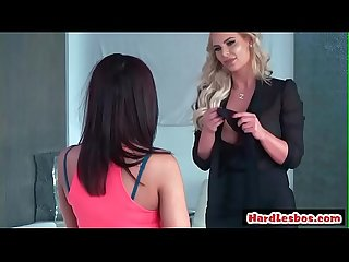 Our Babysitters Butt (Amara Romani & Phoenix Marie) video-01