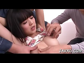 Asian girlfriend fellatio