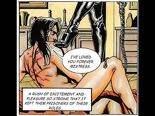 Huge breast evil mistress sex comic