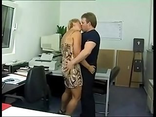 Mature suck in the Car and fuck in the Office