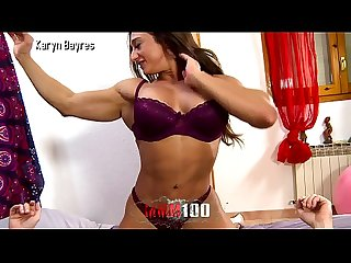 Trailer : Hot muscle Woman fucking like a crazy horse