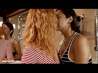 Secretive Sex by Sapphic Erotica - lesbian love porn with Minerva - Grete