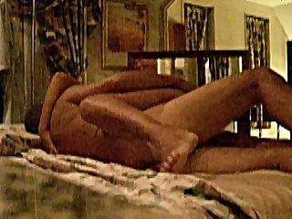 Cogiendome encima de la cama