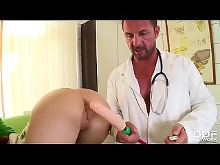 Medical Asshole and Pussy Examination of Fetish Patient Alice